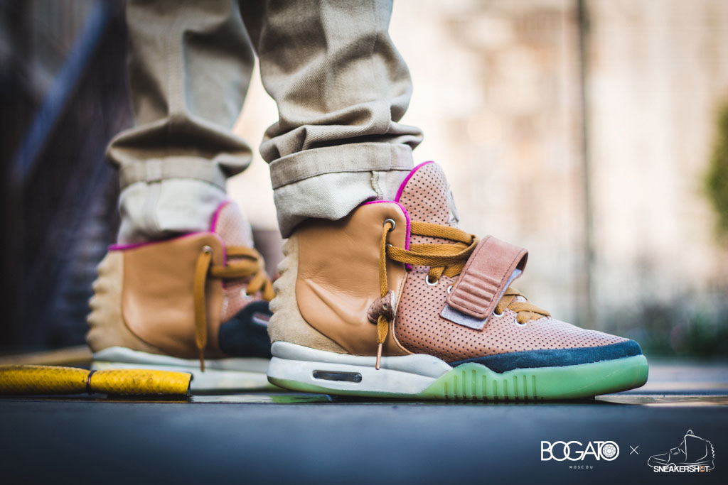 Nike Air Yeezy 2 'Net' by Maggi (4)
