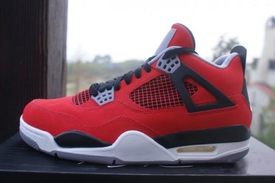 sports shoes 01bd0 d2527 Air Jordan 4 Retro - Fire Red White-Black-Cement Grey
