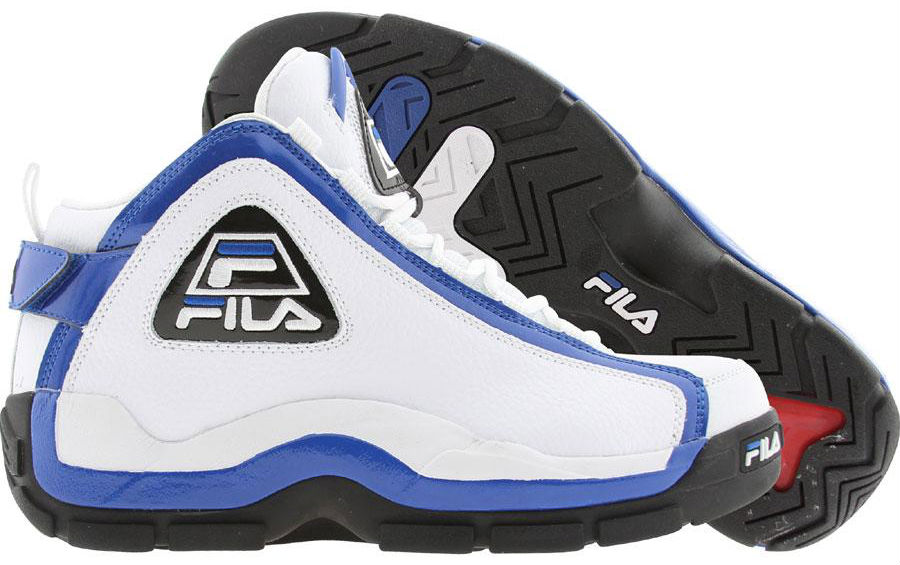 FILA 96 Grant Hill White Blue Black 1VB90031-162 (1)