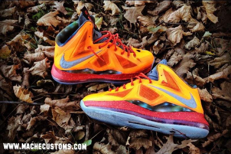 Nike LeBron X Big Bang by Mache Custom Kicks (1)