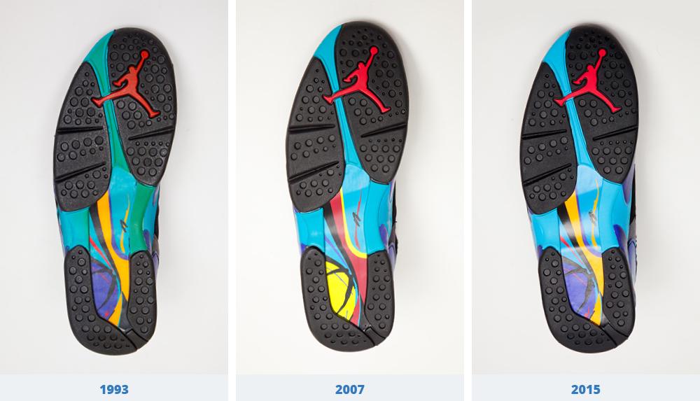 f35fb95433e See How the 'Aqua' Air Jordan 8 Compares to the Original | Sole ...