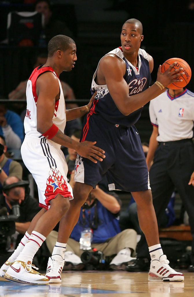 fee1ee0ee Dwight Howard s Orlando Magic adidas Sneaker History - adidas Bounce  Artillery All-Star (2