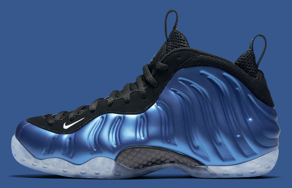 Nike Air Foamposite One Royal 2016 Side 895320-500