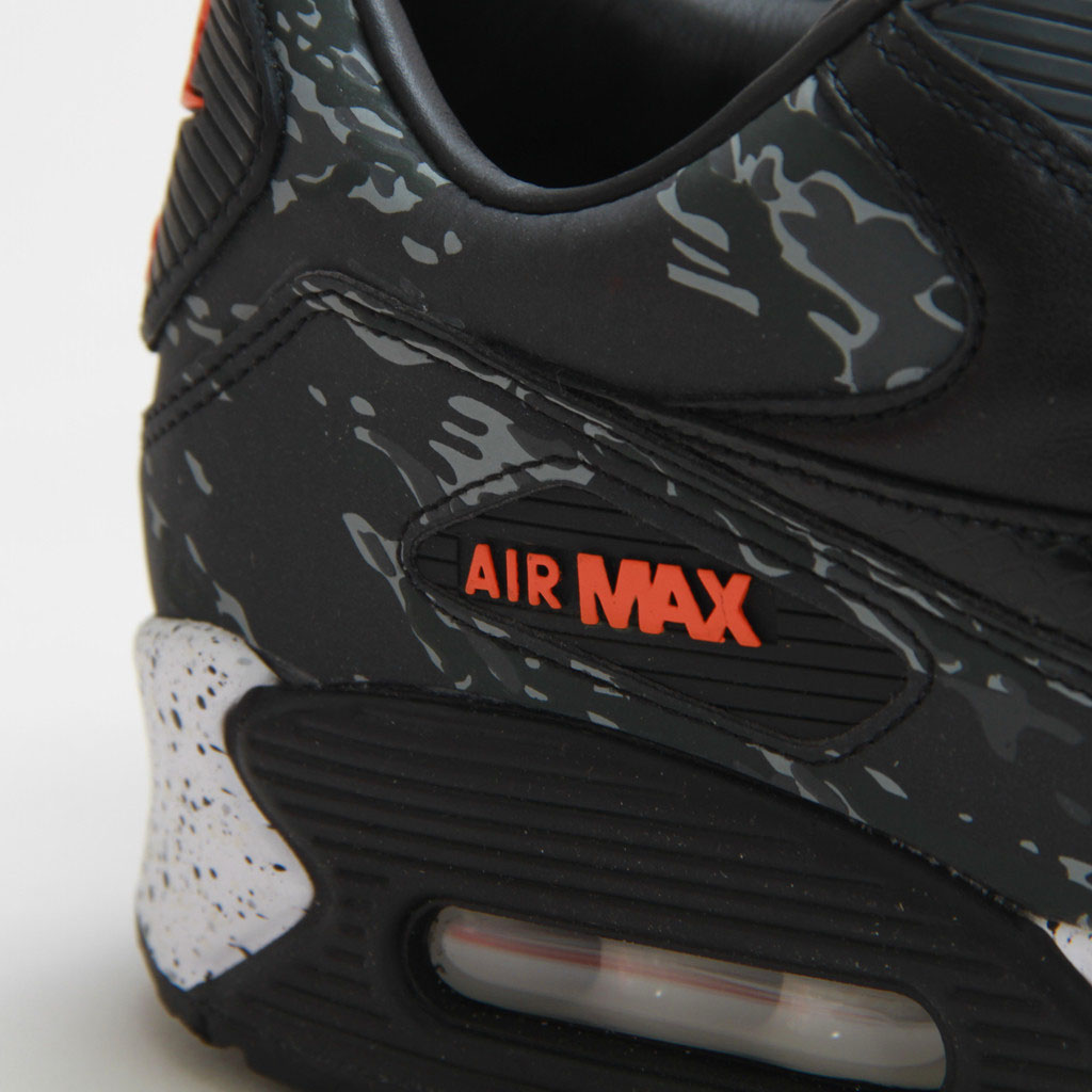 b8512d1f52a4a atmos x Nike Air Max 90 'Black Tiger Camo' - US Release | Sole Collector