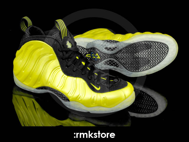 Nike Air Foamposite One Electrolime Golden State 314996-330 (3)