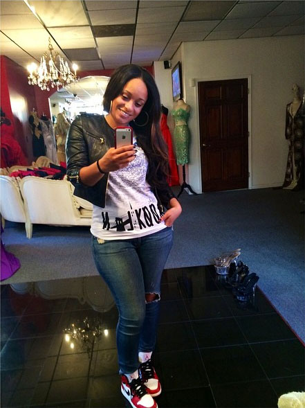 Tahiry Jose wearing Air Jordan I 1 Bulls 9f441b5c08