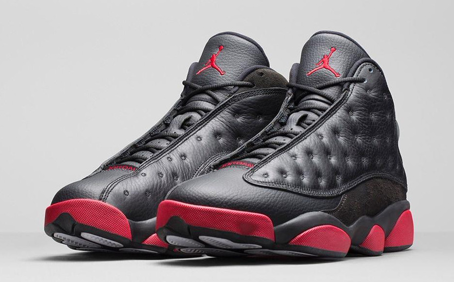 """An Official Look at the Jordan 13 """"Black/Gym Red"""" 