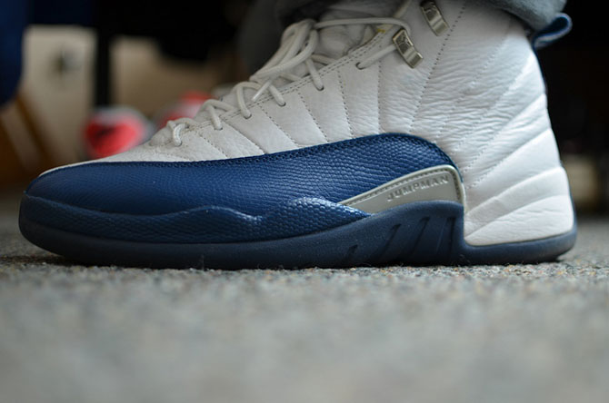 b9177f2e433c In Context  The  French Blue  Air Jordan 12