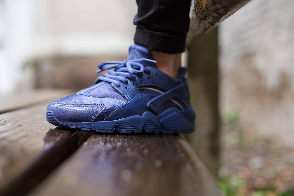 nike huarache ladies blue