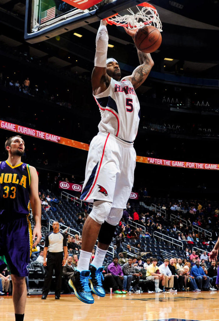 buy online 2d195 8db93 Josh Smith wearing adidas Rose 3.5 Year of the Snake