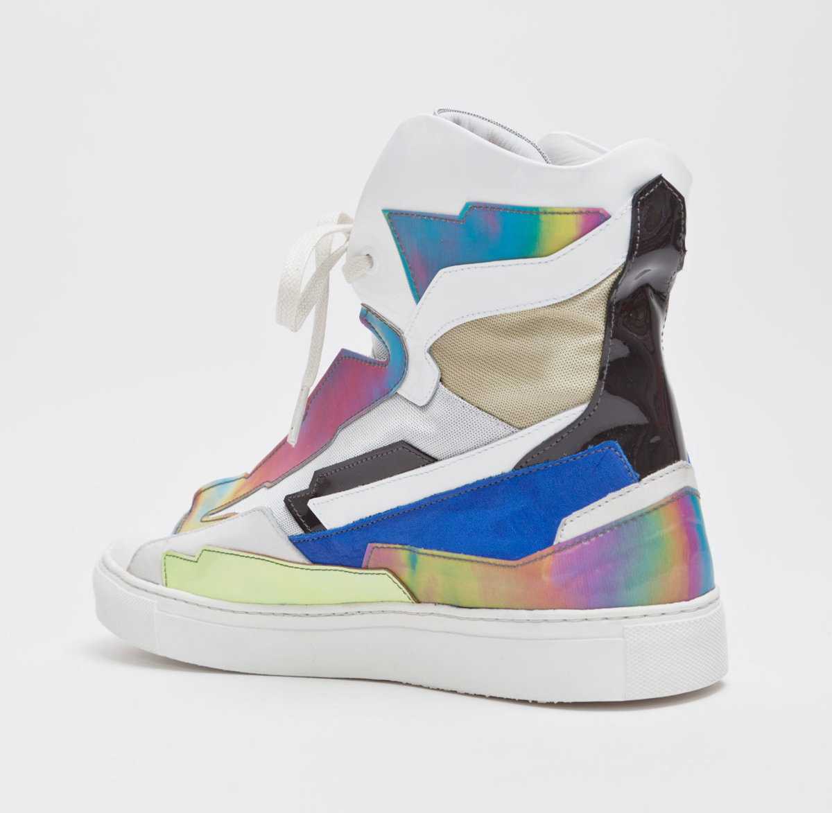 f8b9443256df ... Raf Simons presents a new colorway of the Holographic Space Sneaker
