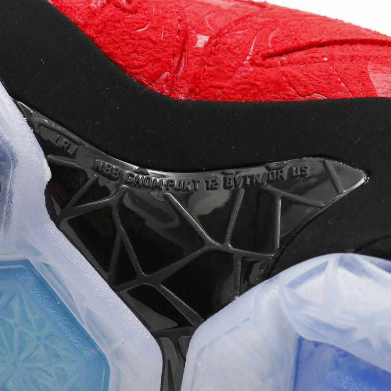 timeless design 92f21 2db6d Release Date  Nike LeBron 12 EXT  Red Paisley    Sole Collector