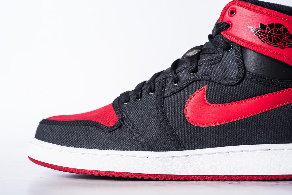 new styles bb066 02d16 See How the  Bred  Air Jordan 1 KO Looks On-Feet