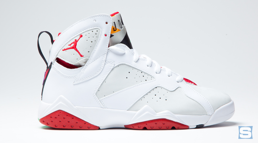 8b11d97d139 How Do the 2015 'Hare' Jordan 7s Compare to the Originals? | Sole ...