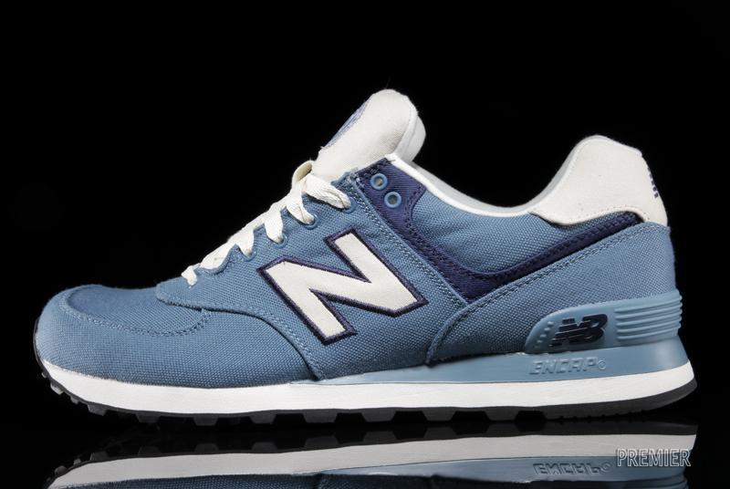 new balance 574 blu rosa