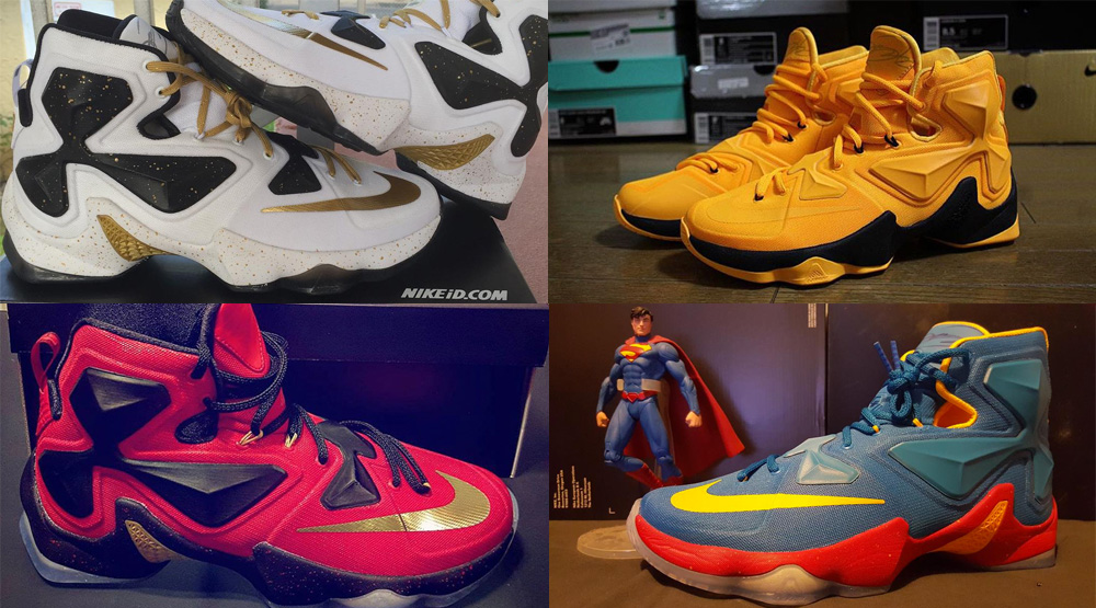 14721f041f4 The 50 Best LeBron 13 NIKEID Designs On Instagram