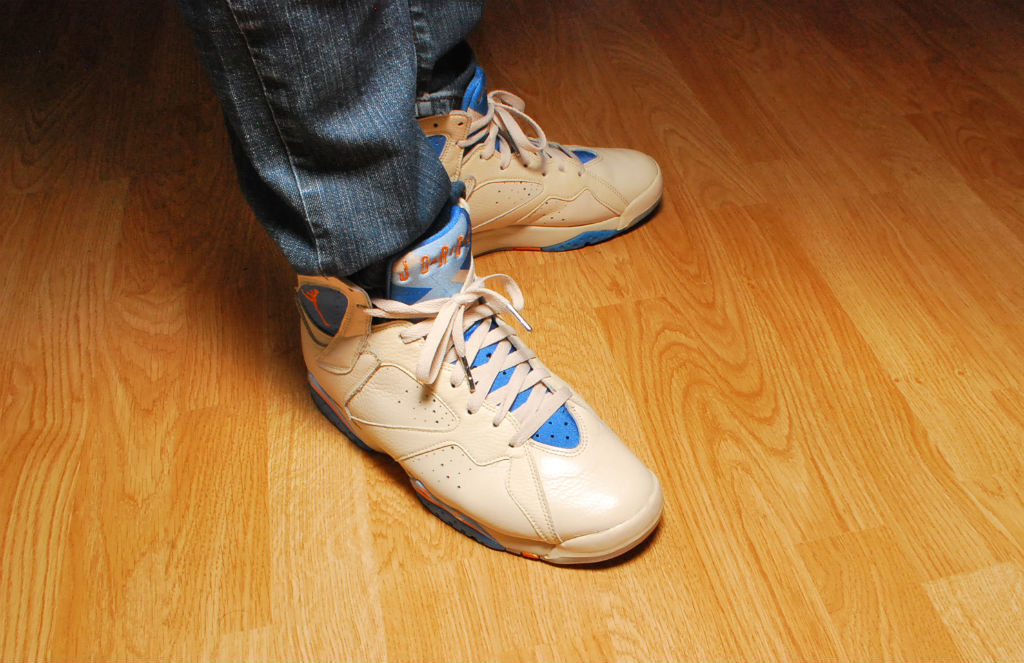 Spotlight // Forum Staff Weekly WDYWT? - 8.31.13 - Air Jordan VII 7 Retro Pacific Blue by Nikolas
