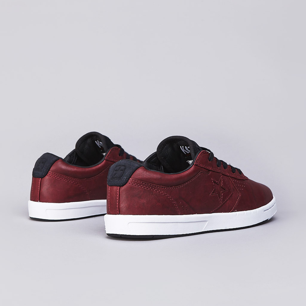 Converse CONS KA-II for Kenny Anderson in cordovan leather heel