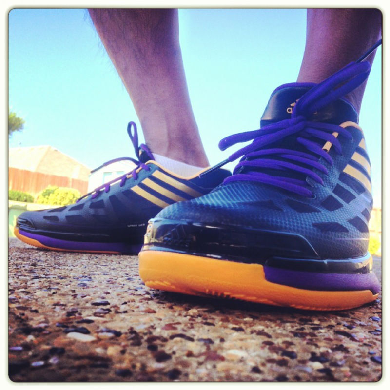 Spotlight // Forum Staff Weekly WDYWT? - 8.10.13 - adidas adizero Crazy Light Low Derek Fisher PE by Tito_Deo