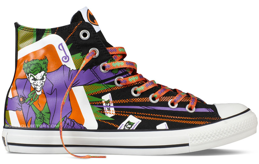 DC Comics x Converse Chuck Taylor All Star Joker
