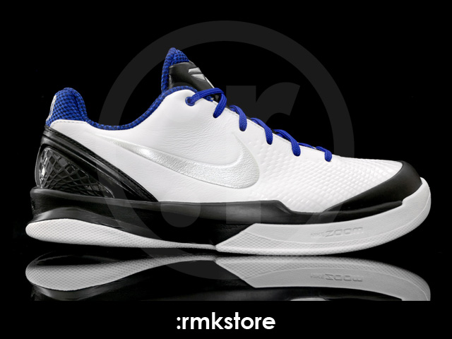 92a762f8ca03 Nike Zoom Kobe VI Venomenon White Metallic Silver Black Concord 429653-101