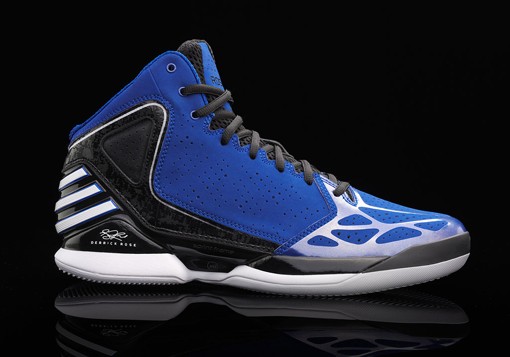 adidas Rose 773 Blue Black White (1)
