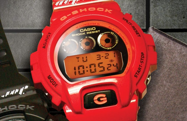 Jordan Brand x Casio G Shock Limited Edition Collection