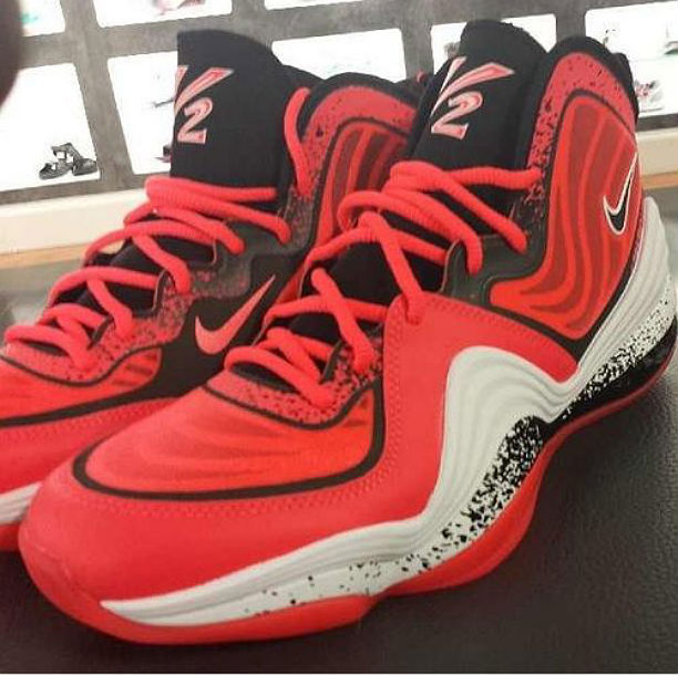 Nike Air Penny V Lil' Penny Atomic Red 628570-601 (1)