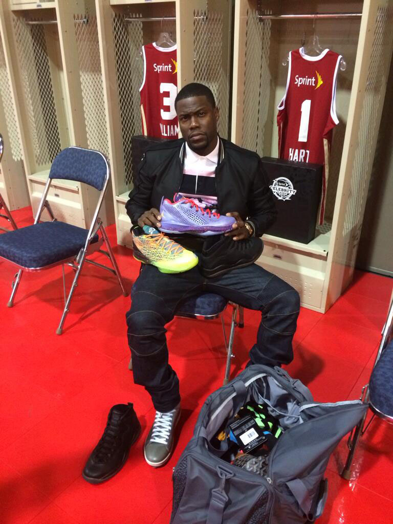Kevin Hart Choosing Between Air Jordan 10 OVO & Jordan CP3.VII
