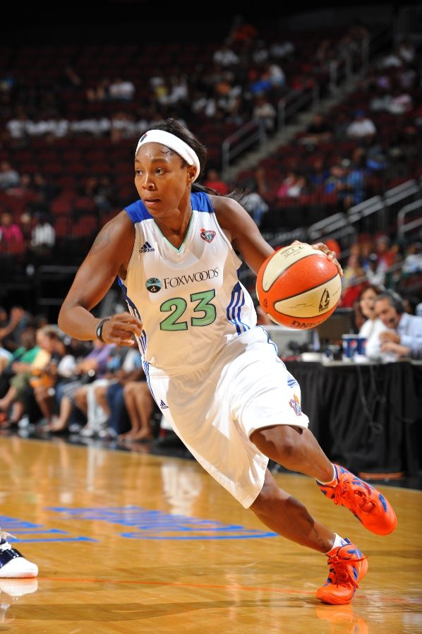 Cappie Pondexter wearing Nike Zoom Hyperfuse 2011