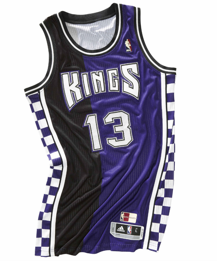 "adidas NBA Hardwood Classics - Sacramento Kings ""Checkerboard"""