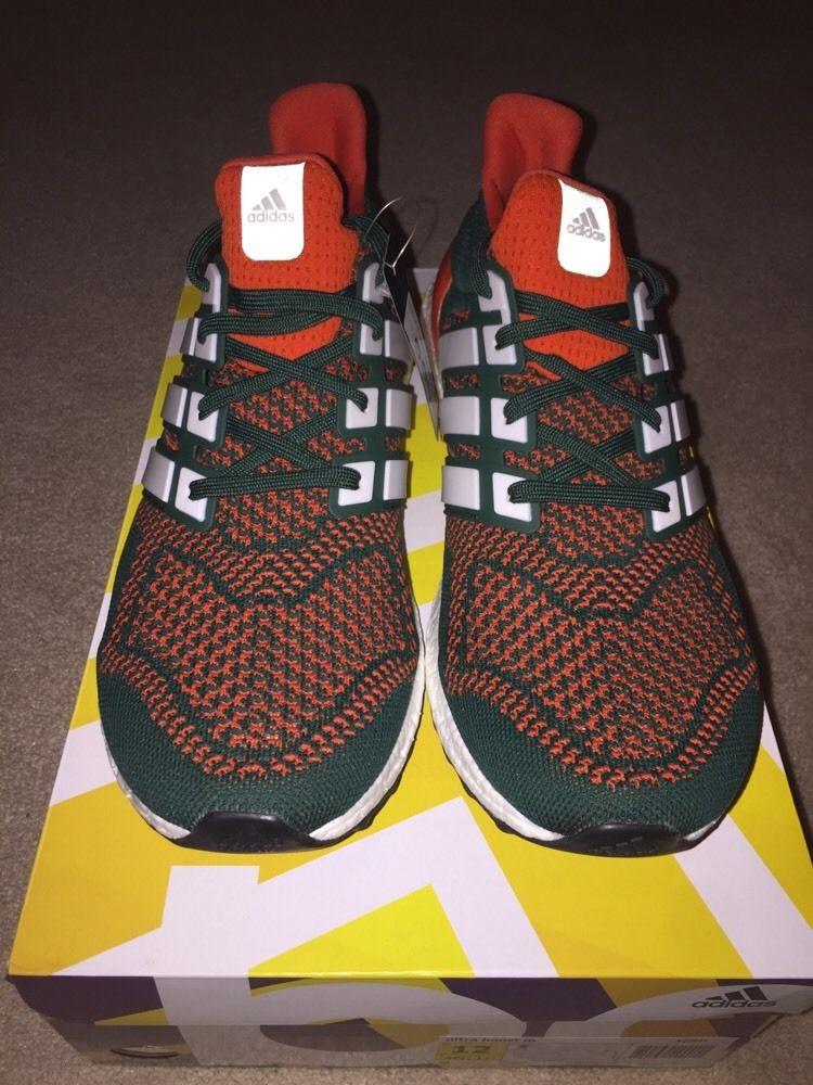 El Miami Hurricanes tengo atada con su propio Adidas ultra aumenta
