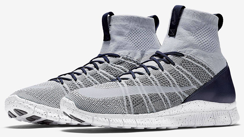 hot sale online d2168 e8141 Nike Free Flyknit Mercurial SP Yankees 805554-001 (1)