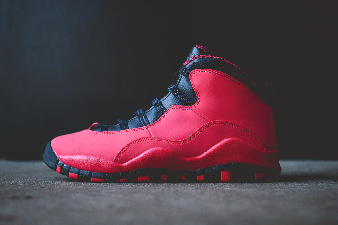 Air Jordan Retro 10 Polaris De Fusion Rouges