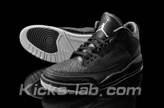 d15658945 ... Air Jordan 3 III Retro Black Flip 315767-001 ...