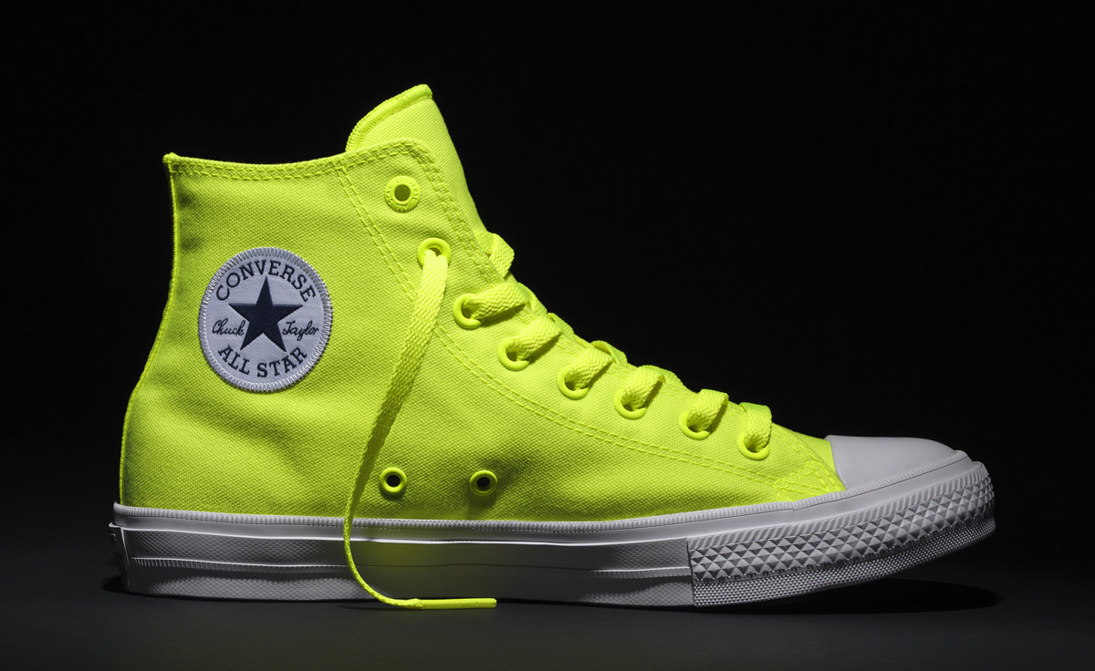 Converse Borrows Nike s Volt for Blindingly Bright Chuck Taylors ... 72dfddac1