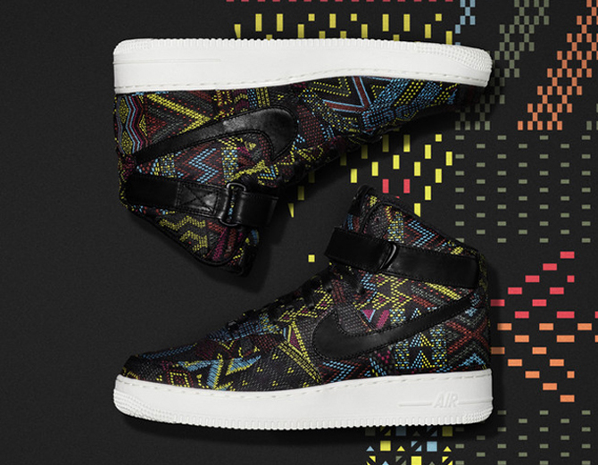 nike air force 1 high bhm women's