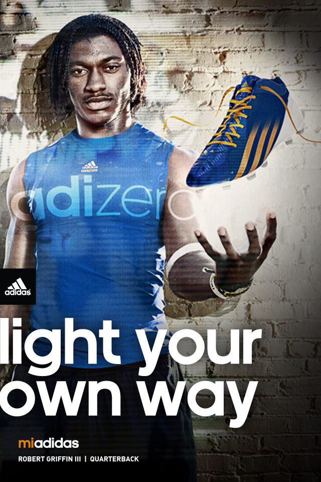 adidas adiZero 5-Star Mid Copperas Cove Bulldawgs by Robert Griffin III (4)