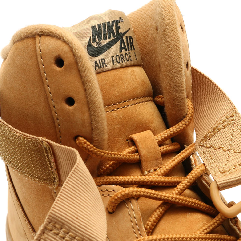 new product faf62 fe44b Here s an On-Feet Look at the  Wheat  Nike Air Force 1   Sole Collector