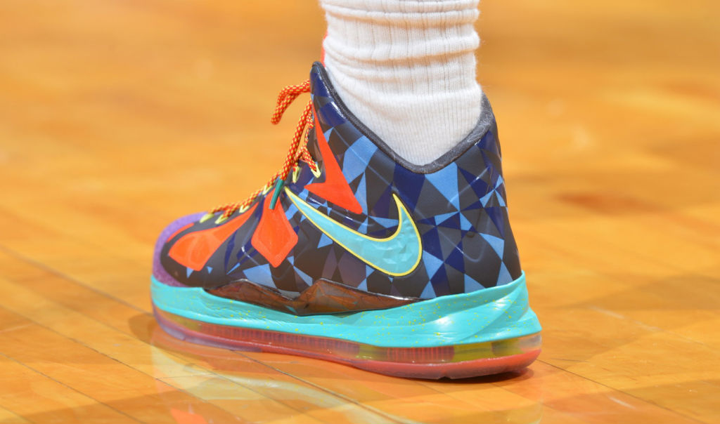 LeBron James wearing Nike LeBron X What the MVP (3)