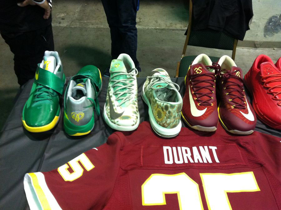 Randy Williams Displays Rare Nike KD Shoes (5)
