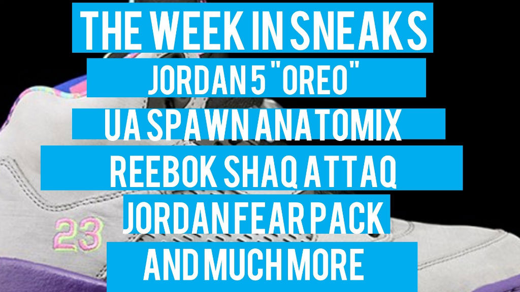 The Week In Sneaks with Jacques Slade : August 17, 2013