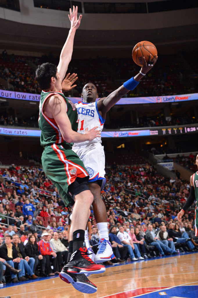 Jrue Holiday & Ersan Ilyasova wearing adidas Crazy Fast