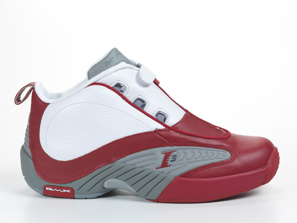 Reebok Answer IV - White/Red-Grey - New Images | Sole ...