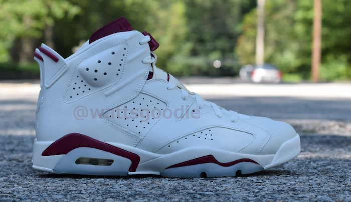 Air Jordan 6 Maroon 384664-116 (1)