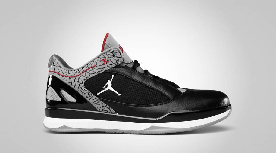 Jordan CP 2 Quick Black Cement Varsity Red 467821-006 6bee78bf2