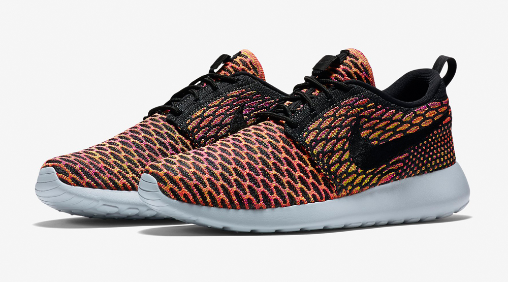 newest 6e1ca 9233a Multicolor Nike Flyknit Roshes