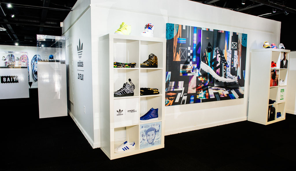 adidas ZX Flux Installation at BAIT (4)