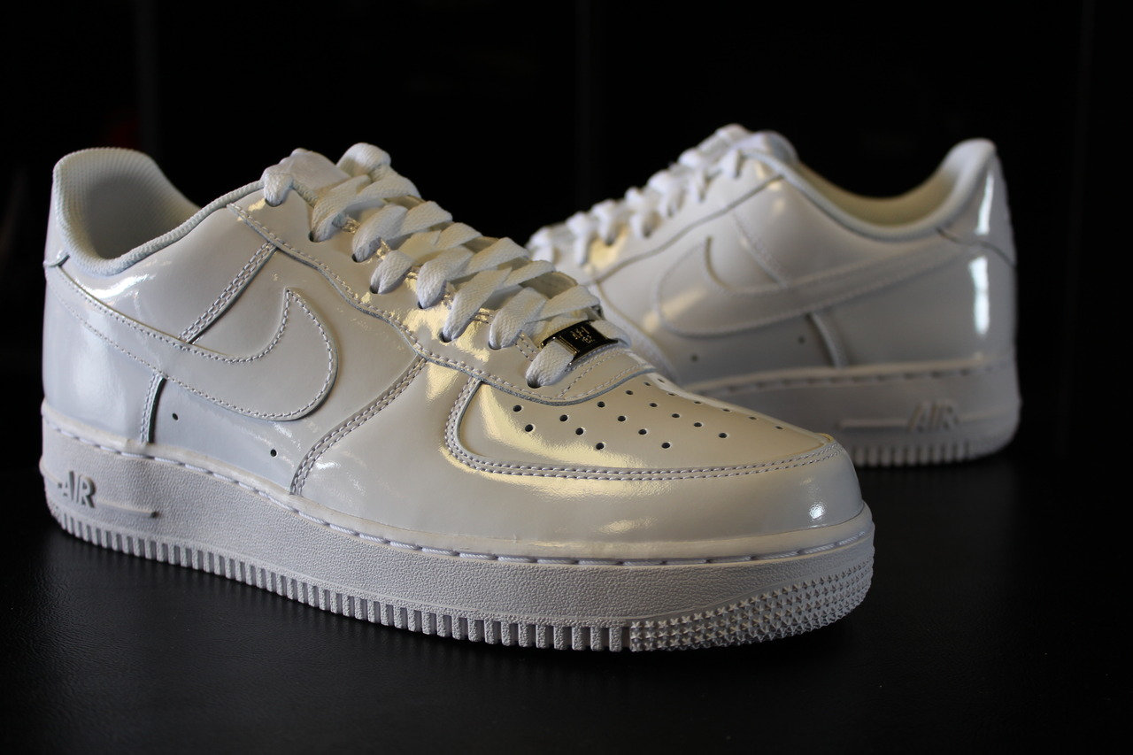 Nike Air Force 1 Low White Patent | Sole Collector