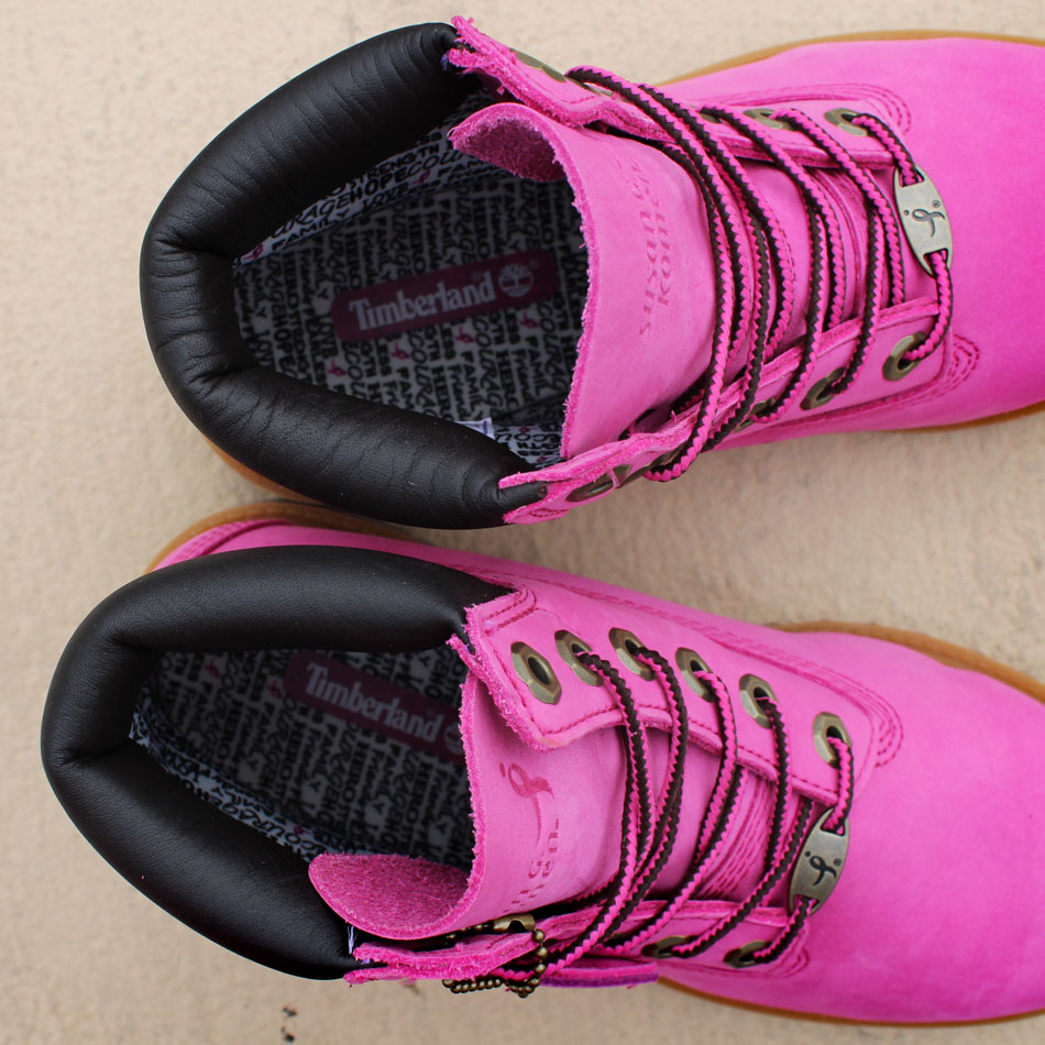 feeb409a2180 Susan G. Komen and Timberland Team Up for Breast Cancer Awareness ...